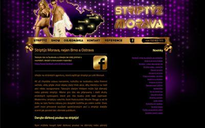 Striptýz Morava