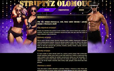 Striptýz Olomouc